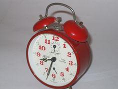 Mid-century Win Up Alarm Clock SOLD
