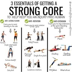 12 Core Exercises for a Stronger Core and Better Posture - GymGuider.com