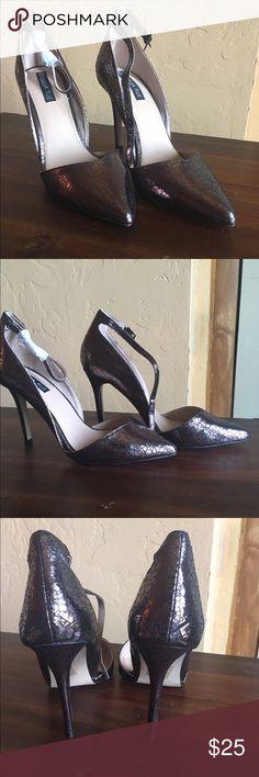 ⚡️FLASH SALE⚡️NWOB Ankle Strap Heels JustFab Heels//Size 8.5//Never Been Worn//No Box JustFab Shoes Heels