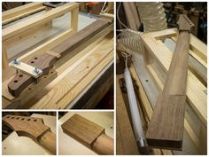 Neck shaping jig collection 4