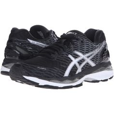 ASICS Gel-Nimbus 18 (Black Silver Carbon) Women s Running Shoes ( 799636cff