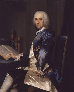 ab. 1750 Frans van der Mijn - Sir Thomas Robinson, 1st Baronet