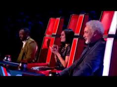 The audition for the The Voice UK for Andrea Begley who has Glaucoma which means she is slowly going blind.  Despite her disability she WON!