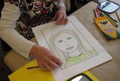 Teacher Workshop: Self-Portraits! | TeachKidsArt