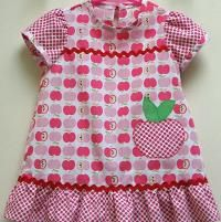 Looking for sewing project inspiration? Check out Rose Bud Baby Romper by member FelicityPattern.