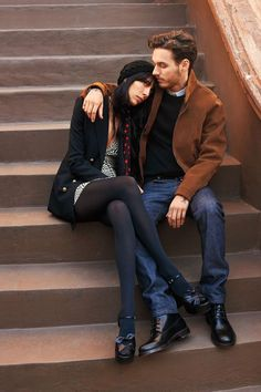 Jaime Bochert, David Alexander Flinn by Terry Richardson for Harper's Bazaar US February 2015 4 David Alexander Flinn, Fashion Shoot, Editorial Fashion, Ali Macgraw, 70s Inspired Fashion, Online Dating Profile, Date Outfit Casual, Terry Richardson, Couple