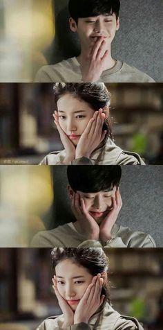 While you were sleeping Lee jong suk and Suzy Dorama K drama