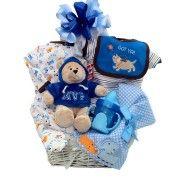MVP baby gift basket