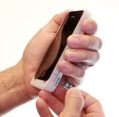 The iExpander gives your phone a Micro SD card, double battery life and an improved flash.
