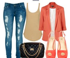 loveeee but WHY cant I find a cute blazer like this?!?!