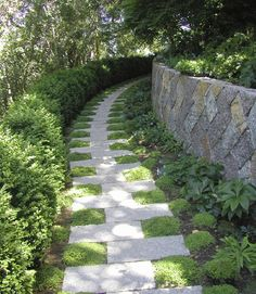 Garden Paths That Are Off The Beaten Path Easy garden path to DIY, interplant with creeping herb varieties for a scented pathway stroll.Easy garden path to DIY, interplant with creeping herb varieties for a scented pathway stroll.