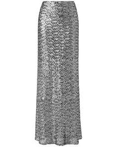 Shimmer Sequin Maxi Skirt