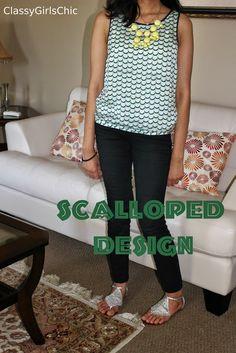 Classygirlschic: Scalloped Design