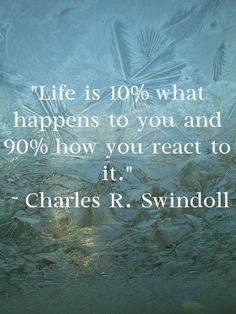 Life is what happens.