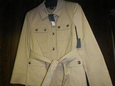PREMISE THEORY Jacket Julian Sahara Safari Pockets Cream S M L XL SALE $495 #PREMISEBYTHEORY #BasicCoat