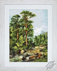 Mountain River - Cross Stitch Kits by Luca-S - B522