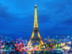 Iconic Landmarks: Eiffel Tower