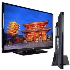 "42"" Sanyo DP42D23 1080p 60HzWidescreen LED LCD HDTV  Color: Black Integrated Digital Clear QAM ATSC + Analog NTSC Tuner Receives ATSC signal formats (including 480i/p, 720p and 1080i) converted to 1080p display 3D Y/C Digital Comb Filter MTS/SAP Stereo & Digital Audio Picture Shapes: Normal, Wide, Zoom (w/remote control PIX Shape Key)  Brand New and Below Retail Price. Check it Out."
