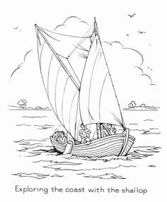 jamestown coloring pages