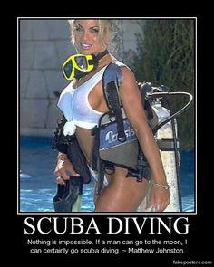 Scuba Diving LMAO