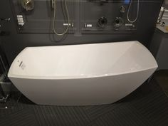 "Most comfy tub ever! Jacuzzi brand, ""Stella"", 67x31, $2,062 @ Ferguson"