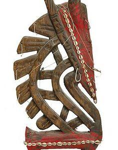 West African Art | Vintage African Art Bambara People Mali Carved Antilope Headdress ...
