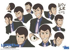 """What other jacket colors do you hope to see Lupin in? Manga Art, Manga Anime, Tms Entertainment, Lupin The Third, Kaito Kid, Dnd Art, Conan, Retro Cartoons, Japanese Cartoon"