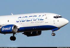 PR-SDL Sideral Air Cargo Boeing 737-3S3(SF) freighter - photo: Helio Bastos Salmon