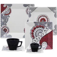 Aparelho de Jantar 42 Peças Porcelana - Americanas.com Jogo De Jantar  Porcelana fdd85f138f1