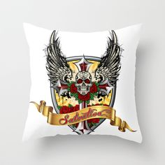 ART IS SALVATION - Throw Pillow by Angel Torres - $20