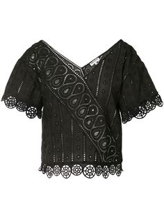 OPENING CEREMONY Broderie Anglaise Blouse. #openingceremony #cloth #blouse