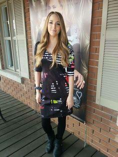 Mode Unique, Shirt Dress, T Shirt, Punk, Dresses, Style, Fashion, White Silk, Gowns