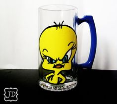 Tweety Bird cup. I like.