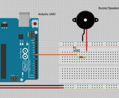 How to Use a Buzzer (or Piezo Speaker) - Arduino Tutorial Rfid Arduino, Microcontroller Board, Electronic Devices, Being Used, Tech, Electronics, Learning, Kids