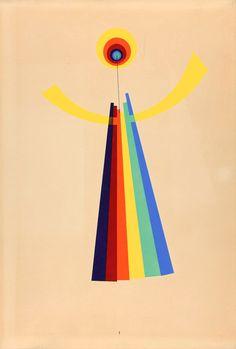 Revolving Doors collage series, Man Ray