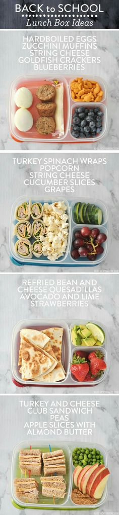 yummy lunch ideas