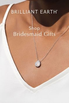 #ad 10 gifts your #bridesmaids ✨actually want✨! Ideas from gorgeous eco-friendly @brilliantearth jewelry to wedding-day pampering to gifting them that coveted plus one! (Yes, your ladies deserve a date). Shop Brilliant Earth's stunning diamond earrings, necklaces, bracelets, rings & more (and maybe shop a gift for yourself, too!) Best Bridesmaid Gifts, Bridesmaid Shoes, Bridesmaid Jewelry, Bridal Jewelry, Bridesmaids, Wedding Guest List, On Your Wedding Day, Diamond Studs, Diamond Earrings