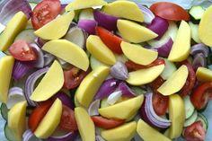 Κολοκυθάκια με πατάτες στο φούρνο | Συνταγές - Sintayes.gr