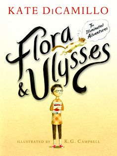 USA Today's  Exclusive peek: Kate DiCamillo's 'Flora and Ulysses'