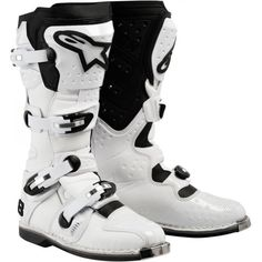 Special Offers - Alpinestars Tech 8 Mens Motocross Motorcycle Boots  White / Size 9 - In stock & Free Shipping. You can save more money! Check It (January 23 2017 at 01:16AM) >> https://motorcyclejacketusa.net/alpinestars-tech-8-mens-motocross-motorcycle-boots-white-size-9/