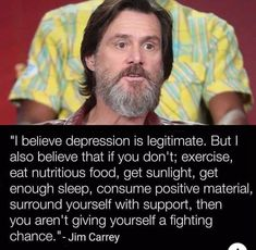 5 Things People With Hidden Depression Do​ Cry For Help, Jim Carrey, Speak The Truth, Life Purpose, Going Crazy, What Is Like, Make You Smile, Real Talk, Quotes