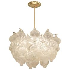 Exceptional Tulipan Kalmar Chandelier   See more antique and modern Chandeliers and Pendants  at https://www.1stdibs.com/furniture/lighting/chandeliers-pendant-lights