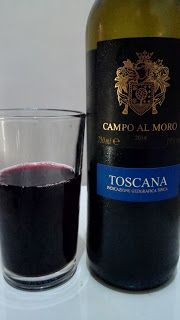 Um vinho interessante e diferente, uma certa mistura de muitas sensações em vários sentidos, mas que não trouxe uma boa experiência, a mistura é um tanto enjoativa e que não traz uma identidade ao vinho.  #Campo #Al #Moro #IGT #Toscana #2014 #CampoAlMoroIGTToscana2014 #vinho #uva #bebida #alcoólica #álcool #Sangiovese #Merlot #Cabernet #Sauvignon #seco #Itália #italiano #rolha #ácido #aguado #ClubeW #GuiasLocais #LocalGuides #XinGourmet