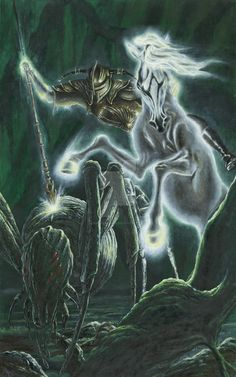 Orome Hunts the Monsters of Morgoth by KipRasmussen.deviantart.com on @DeviantArt