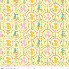 Today I have 'Green Friends' from the Woodland Tail range by Riley Blake and isn't it just perfect for Easter sewing!!  http://www.theozmaterialgirls.com/woodland-tail-green-friends-riley-blake-quilt-craft-fabric-p-5769.html  Purchase one metre of the featured fabric and receive a FREE FQ (chosen by the TOMG staff) of a coordinating or blender fabric to compliment your purchase,. Just enter the CODE:  DOTD in the comments at checkout. This deal expires at midnight tomorrow, 27th March, 2013