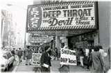 Looks like people may have been protesting Deep Throat!