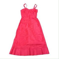 VINTAGE 40s-50s VAL MODE HOT PINK SLIP NEW!. Check it out! Price: $38 Size: S