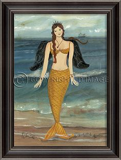 LH Mermaid Angel by Kolene Spicher - Spicher and Company