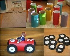 Brinquedos com material reciclado 7                                                                                                                                                      Mais
