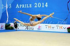 Beautiful leap from Maria Titova